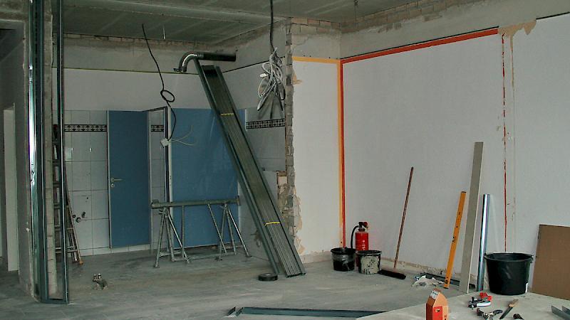 Innenausbau - neue Praxisräume